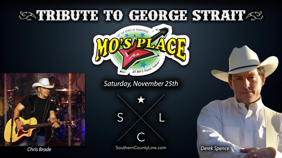 Derek Spence Tribute To George Strait
