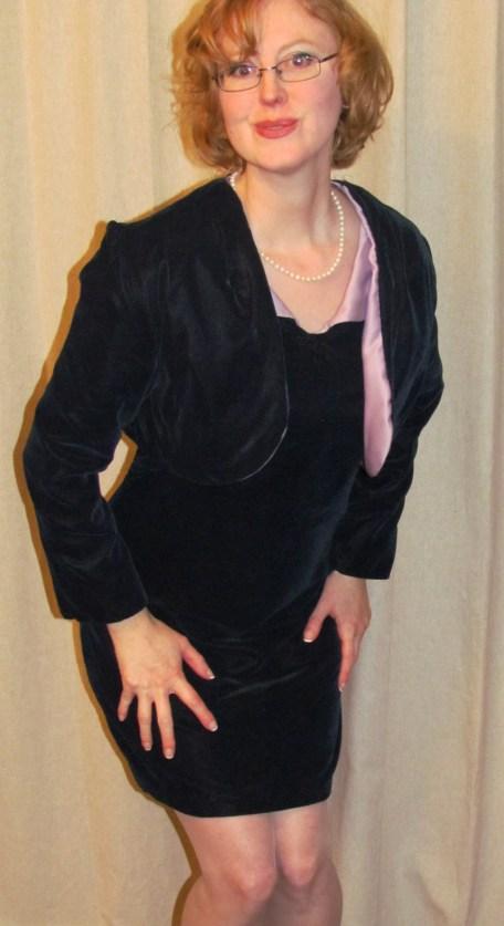 Posing like Marilyn!