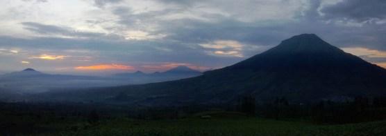 Gunung sumbing dari Posong
