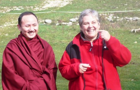 With Taklung Matrul Rinpoche