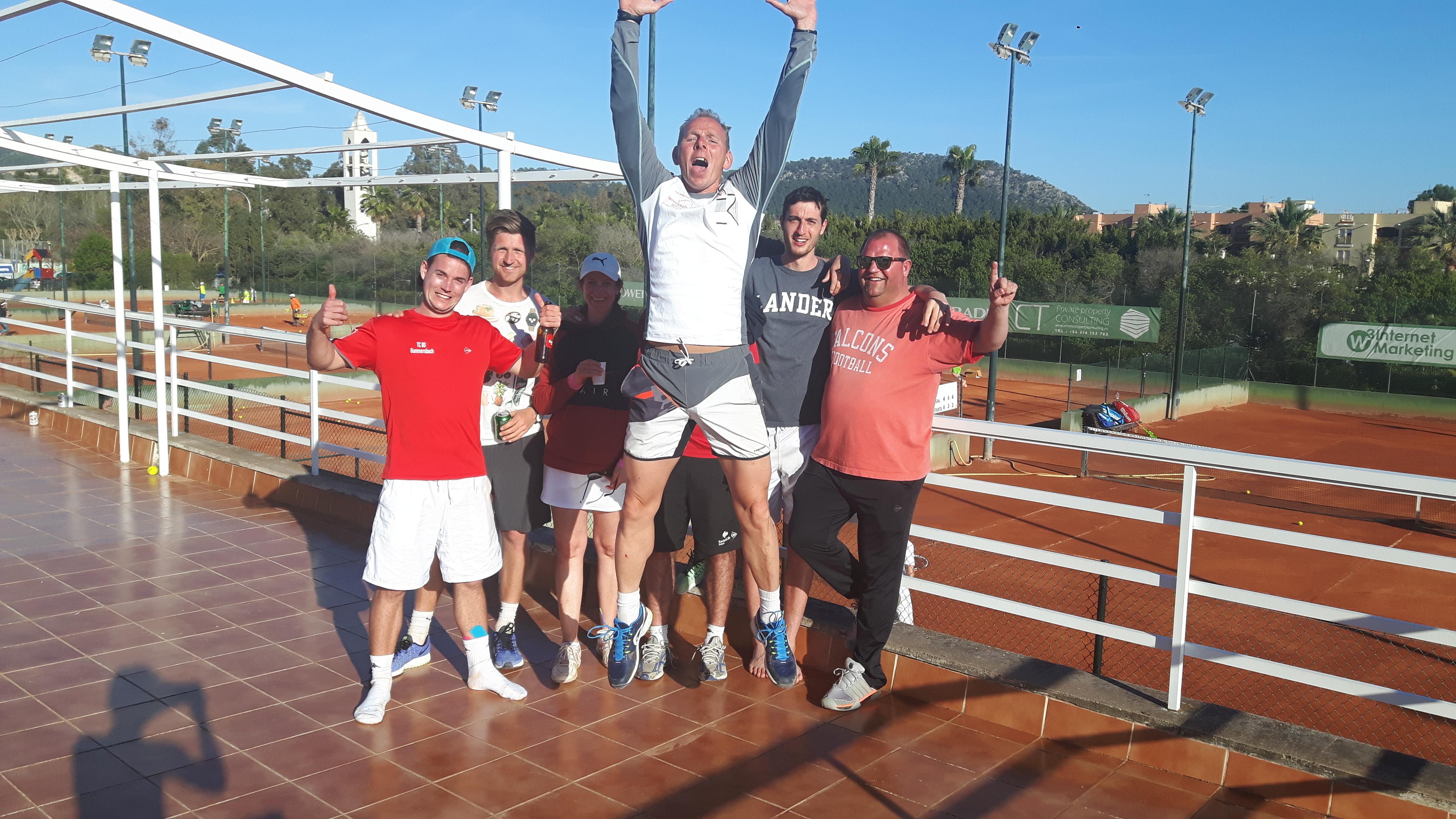 Gruppenbild - Freier Nachmittag Mallorca
