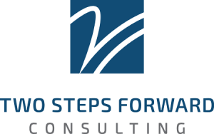 two steps forward consulting logo image