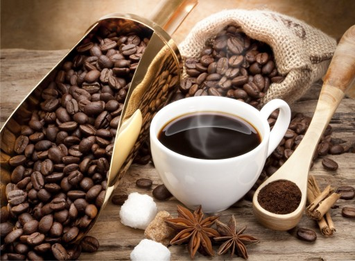 Coffee Beans and Caffeine for that quick Buzz