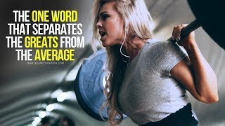 DISCIPLINE: The ONE WORD That Makes A Big Difference – (Motivational Speech)