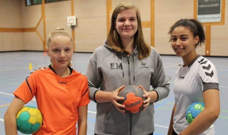 tsg handballerinnen schaffen sprung in