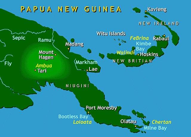 Reisebericht Tauchen Papua Neu Guinea