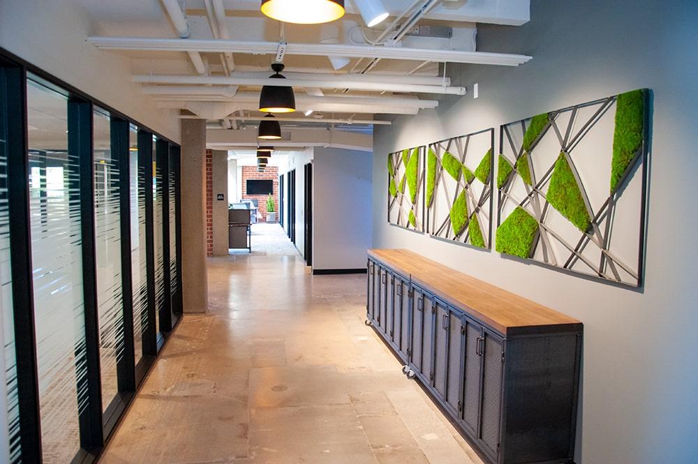 TSG Wealth Management Irvine Hallway