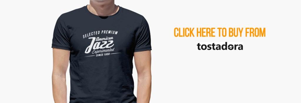 Vintage Retro Jazz T-shirt