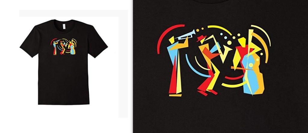 Funny Jazz Trio T-shirt