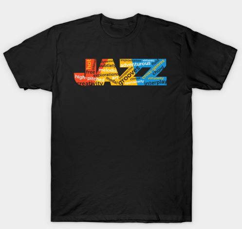 Jazz Colorful Modern Concept T-Shirt