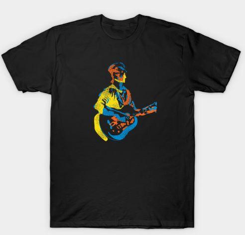 The Pop Art Guitarist T-Shirt