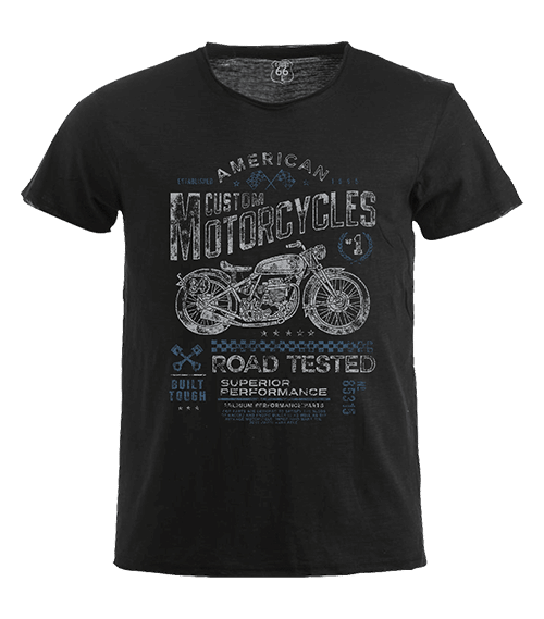T-Shirt 66 - Motor custom man