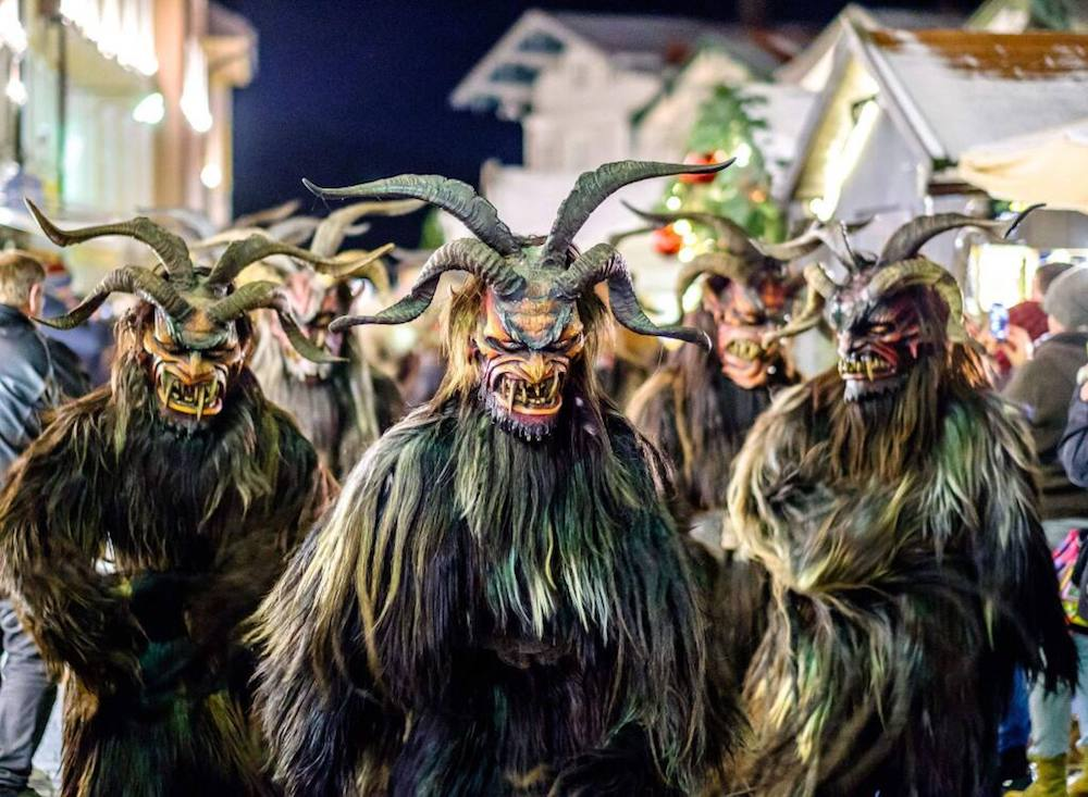 Christmas Traditions In Austria- Krampus is here to scar your kids