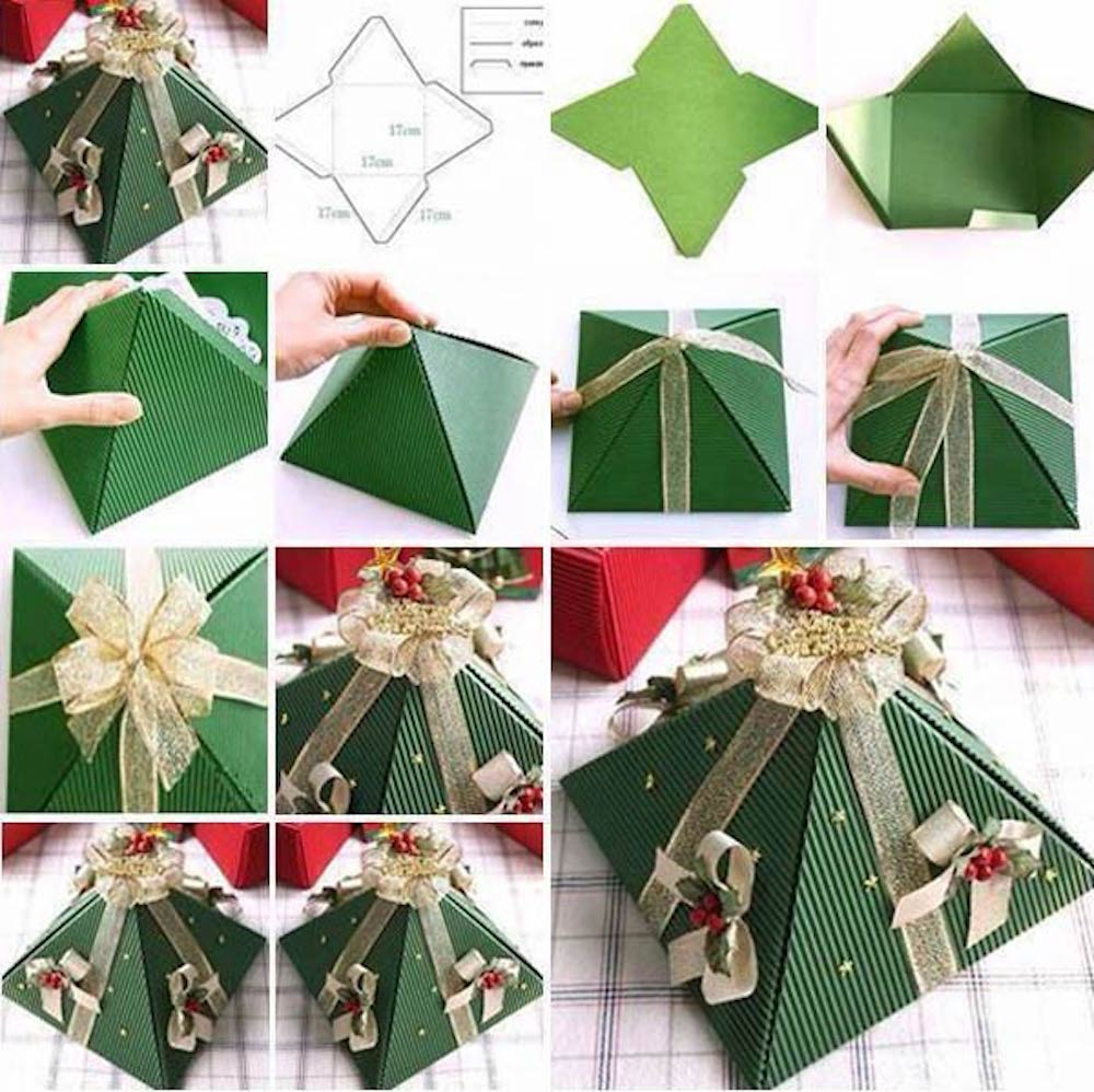 DIY Christmas Gifts With Paper