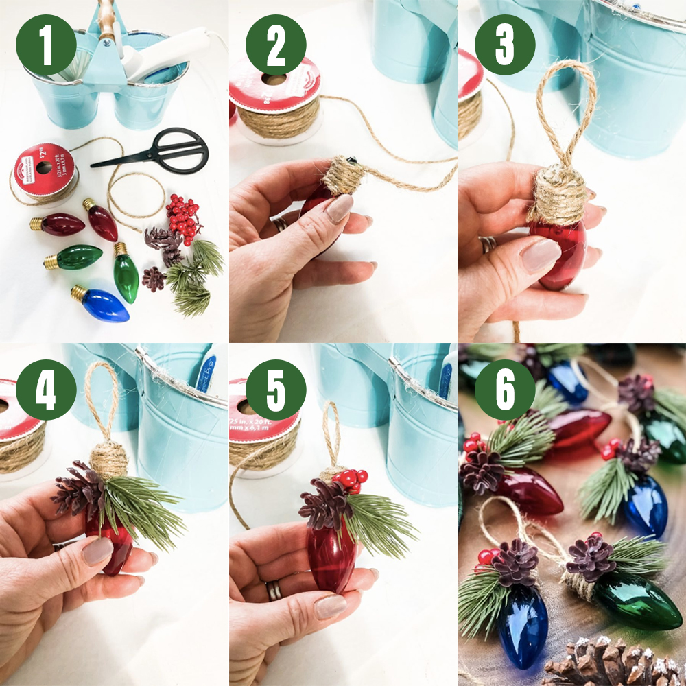 These DIY Christmas ornaments are easier than ever with clear steps.