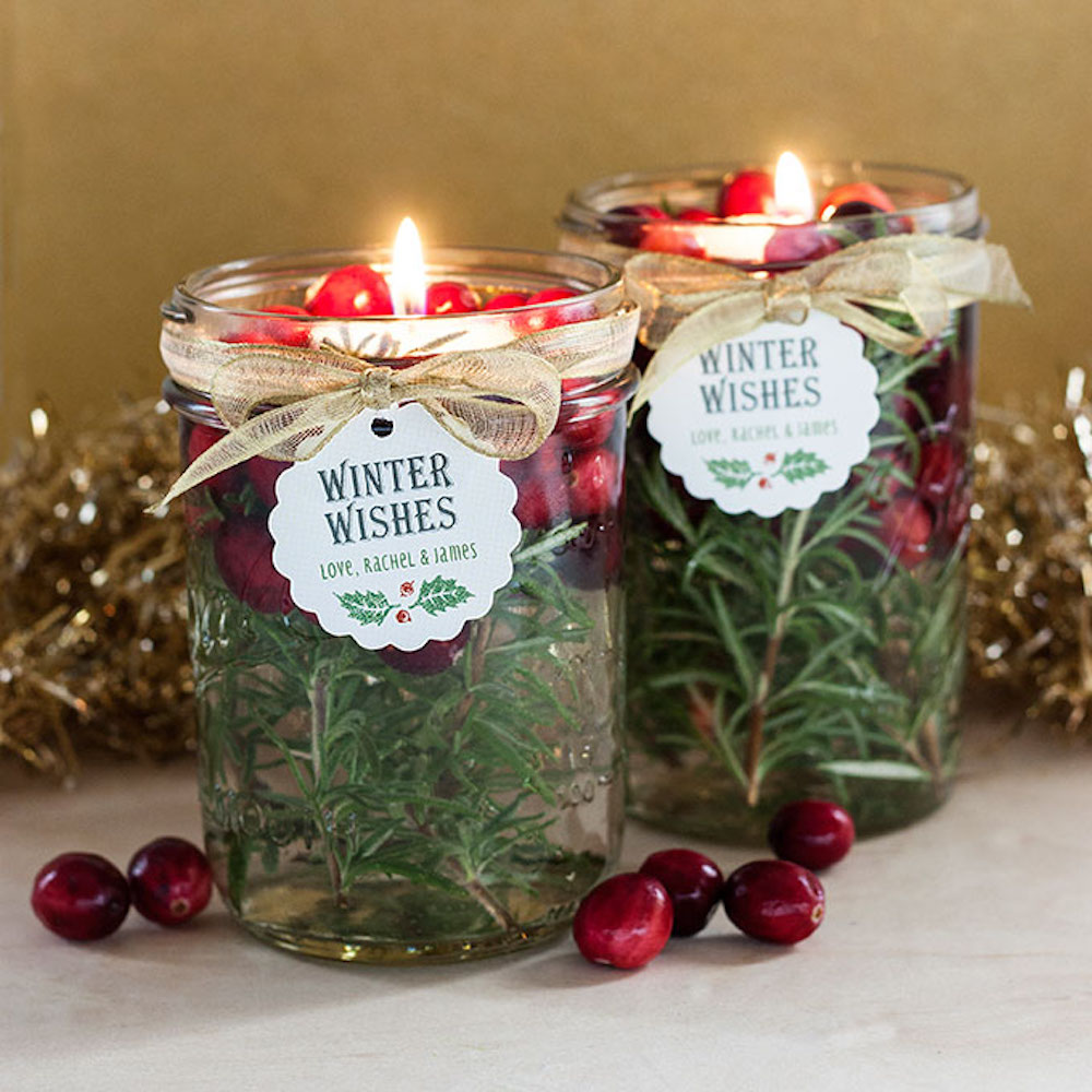 DIY floating candle is not a bad idea for DIY Christmas gifts