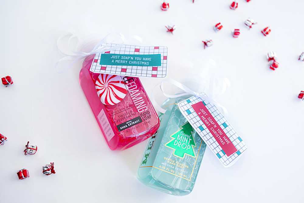 Just soap'n you have a Merry Christmas is one of the great DIY Christmas Ideas