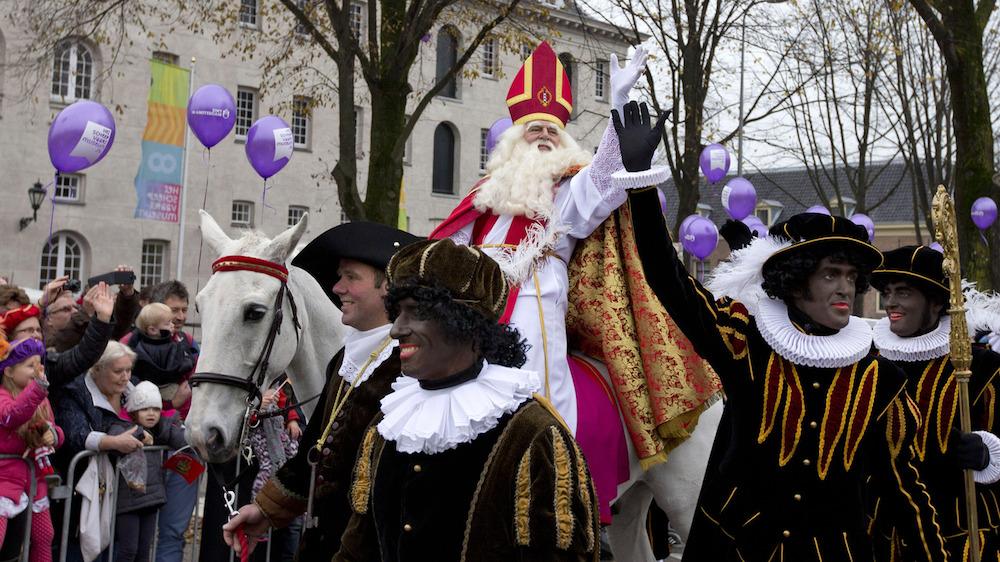 Sinterklaas is one of Dutch Christmas Traditions