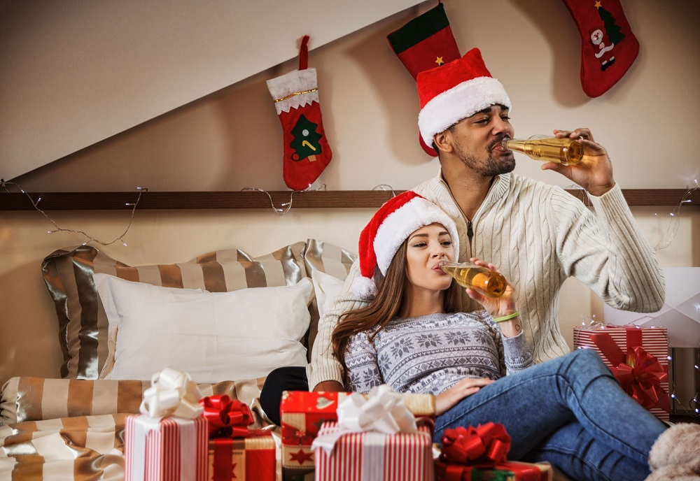Watching a great film at home is one of fascinating couples Christmas activities