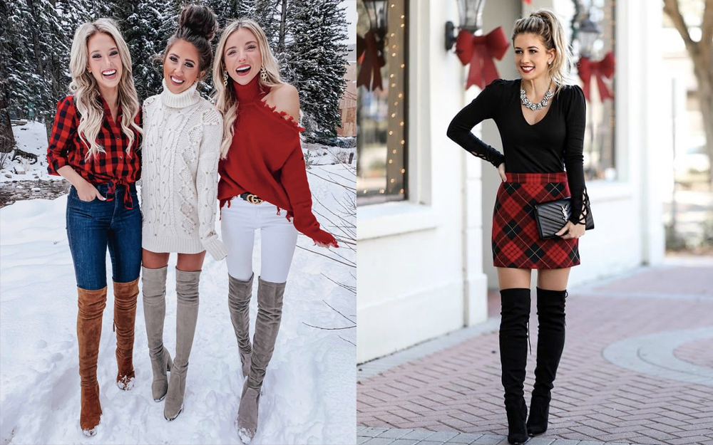 Love the plaid Christmas outfits? If so, you need to see this.