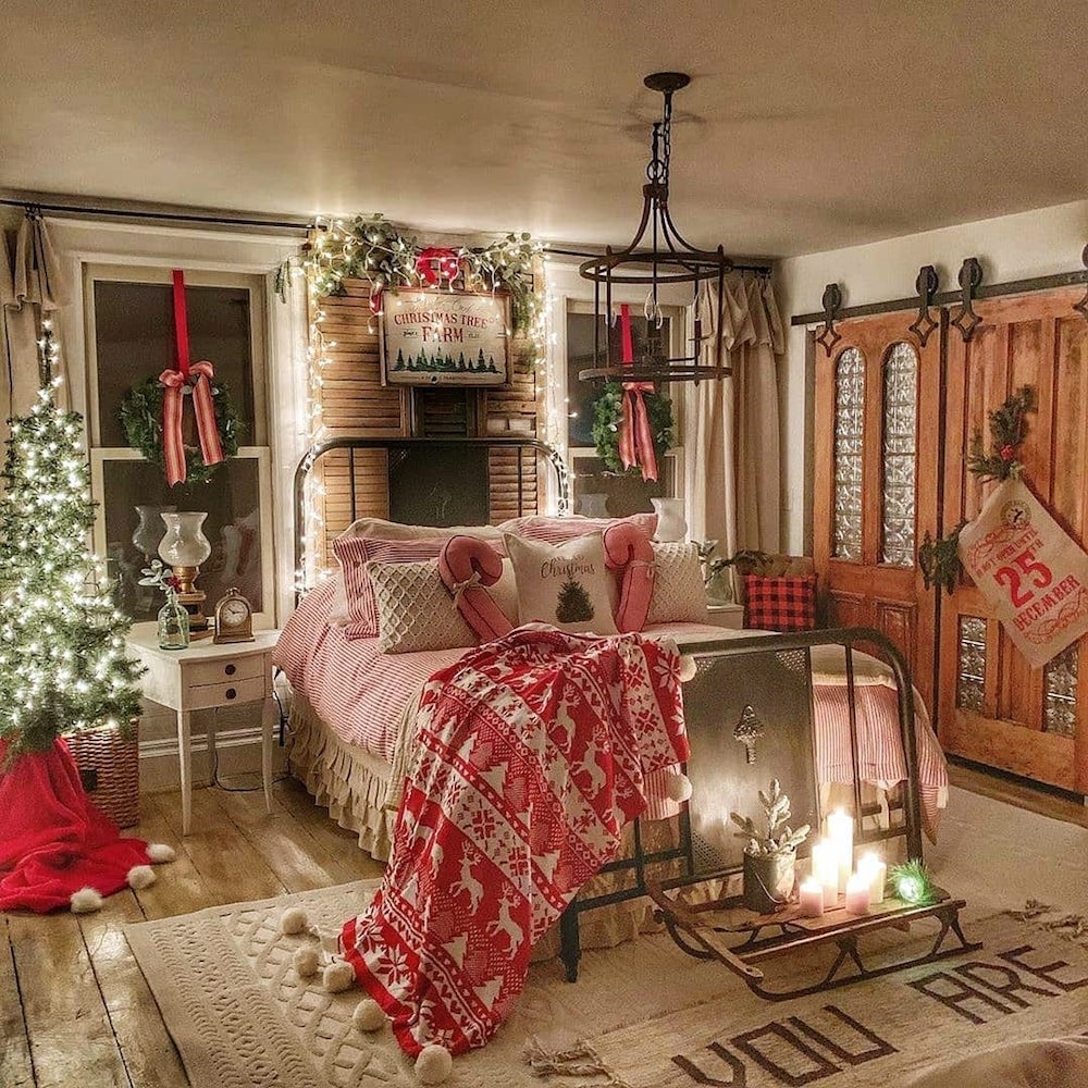 Christmas room decoration ideas will make your home more cozy and festive!