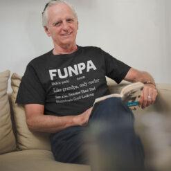 Funpa Shirt Like Grandpa Only Cooler