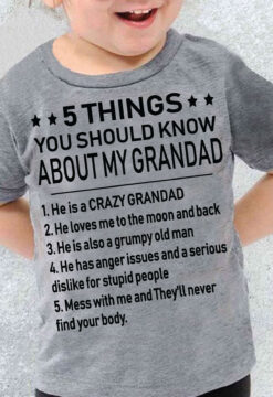 Grandad Shirt 5 Things You Should Know About My Grandad