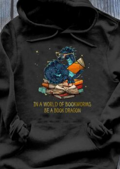 Bookworm Shirt In World Of Bookworm Be A Book Dragon Glasses