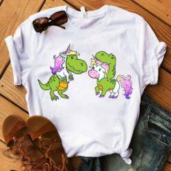 Funny Dinosaur Unicorn Shirt