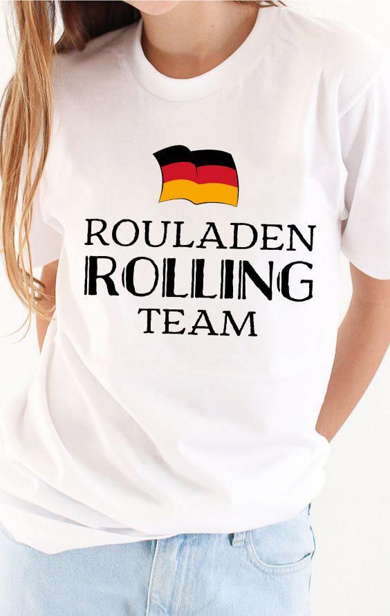 German Shirt Rouladen Rolling Team