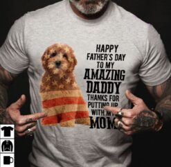 Goldendoodle Shirt Happy Father's Day My Amazing Daddy