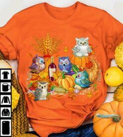 Halloween Owl Shirt Owl And Halloween Party