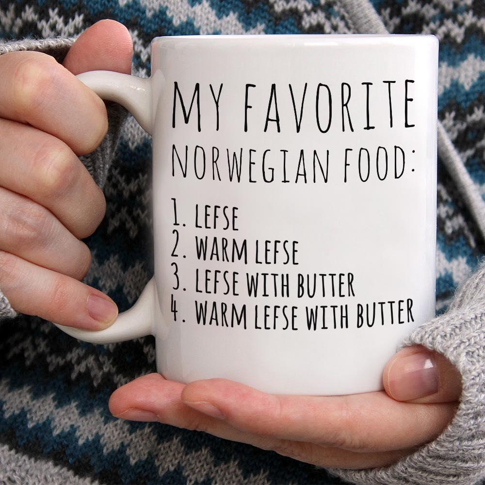 Norwegian Mug Lefse My Favorite Norwegian Food