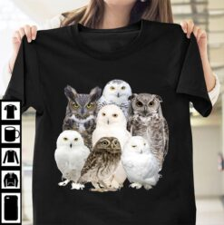 Owl Shirt Types Of Owl