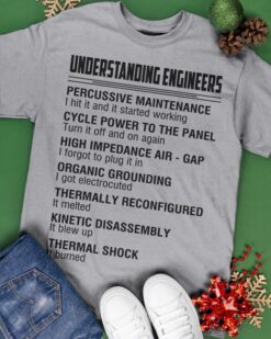 Understanding Engineer Shirt Percussive Maintenance