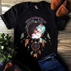 Unicorn Shirt Distracted By Unicorn Books Dreamcatcher