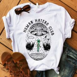 Alien Shirt Human Haters Club