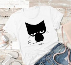 Black Cat Shirt Meh