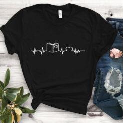 Book Shirt Book Heartbeat