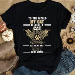 Cat Shirt Cat Is My World