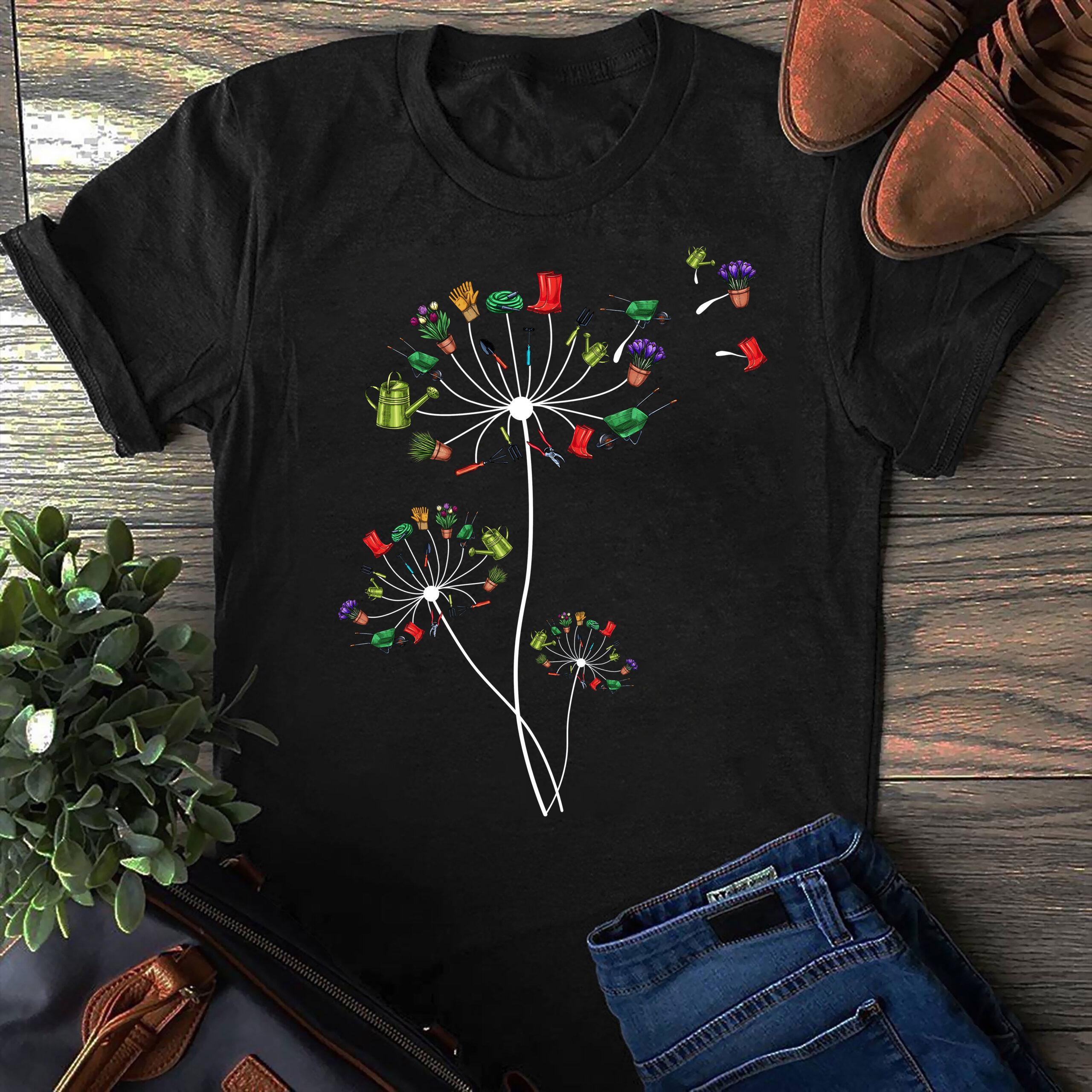 Dandelion Garden Shirt