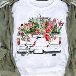 Garden Shirt Flower Truck