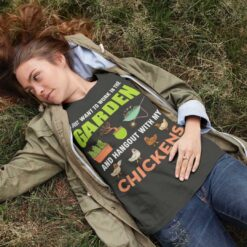 Garden-Shirt-Work-In-Garden-Hang-Out-With-Chickens-Promotion