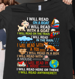 Librarian Shirt Read Books On A Boat & Everywhere Reading