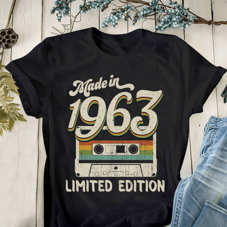 Made In 1963 Shirt Limited Edition