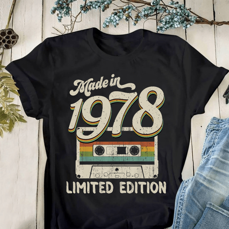 Made In 1978 Shirt Limited Edition