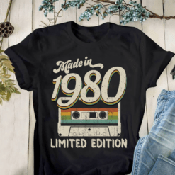 Made In 1980 Shirt Limited Edition