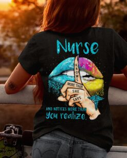 Nurse Shirt Know More Than She Says Hot Lips