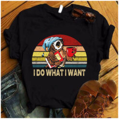 Owl Book Shirt I Do What I Want
