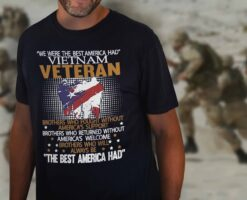 Vietnam Veteran Shirt The Best American Had